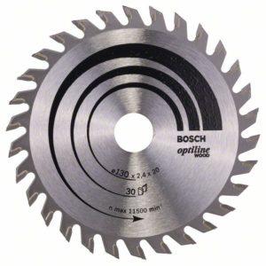 Пильный диск Optiline Wood 130 x 20/16 x 2