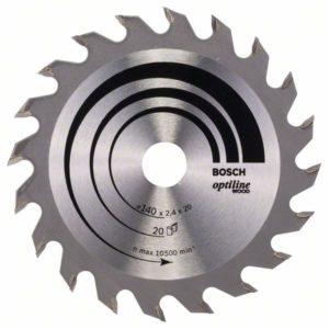 Пильный диск Optiline Wood 140 x 20/12