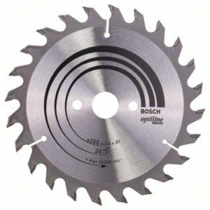 Пильный диск Optiline Wood 150 x 20/16 x 2
