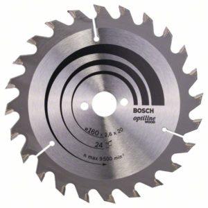 Пильный диск Optiline Wood 160 x 20/16 x 2