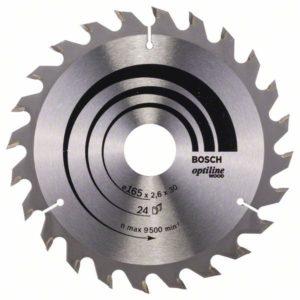 Пильный диск Optiline Wood 165 x 30 x 2