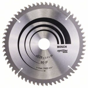 Пильный диск Optiline Wood 216 x 30 x 2