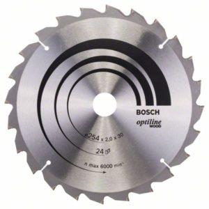 Пильный диск Optiline Wood 254 x 30 x 2