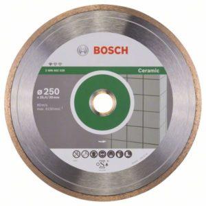 Алмазный отрезной круг Standard for Ceramic 250 x 30+25