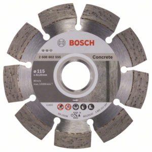 Алмазный отрезной круг Expert for Concrete 115 x 22
