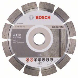 Алмазный отрезной круг Expert for Concrete 150 x 22