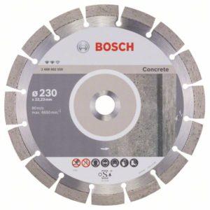 Алмазный отрезной круг Expert for Concrete 230 x 22