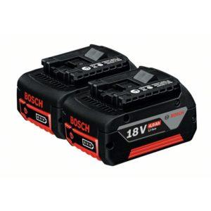 Аккумулятор Комплект аккумуляторов GBA 18 В 4